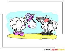 無料で羊漫画