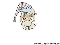 羊のクリップアート無料