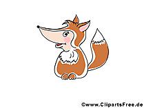 Dieren Clipart Fox