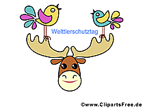 世界野生生物デーへの無料クリップアート