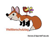 Welttierschutztag - Bilder für die Schule