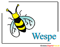 Wasp Clipart-vrij insect