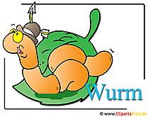 Wurm-Clipart-free-Zoo