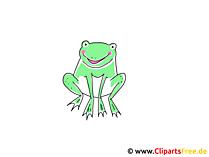 Frosch Clipart
