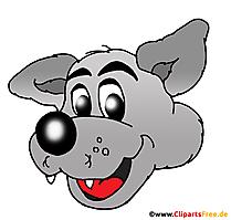 karakter kartun serigala