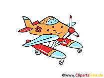 Amphibienflugzeug, Wasserflugzeug Bild, Grafik, Clipart