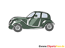 Antique car clipart, image, picture, comic, cartoon free