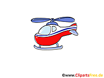 クリップアートヘリコプター
