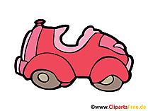 Comic Auto Bild, Clipart, Illustration, Grafik, Zeichnung kostenlos