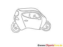 コンセプトカーの写真、クリップアート、無料画像