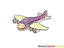 ジェット機のクリップアートやイラスト