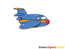 Düsenflugzeug, Düsenjet und Jet Clipart, Bild