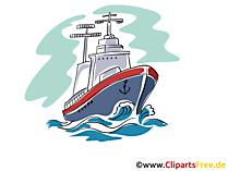 Eisbrecher Schiff Bild, Clipart, Grafik