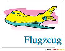Flugzeug Clipart free