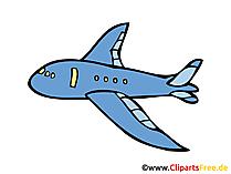 Flugzeug Zeichnung, Bild, Clipart, Cartoon