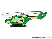 Hubschrauber Bild, Clipart, Illustration, Grafik, Zeichnung kostenlos