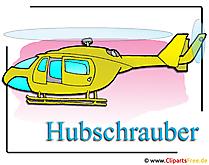Hubschrauber Clipart-Bild free