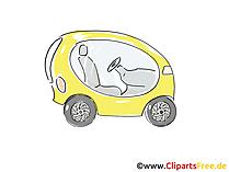 Konzeptfahrzeug Clipart, Bild, Cartoon, Comic, Grafik