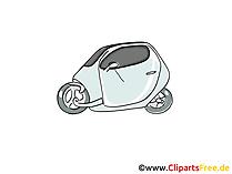 Kraftwagen Clipart, Bild, Cartoon, Comic, Grafik