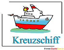クルーズ船のクリップアート画像無料