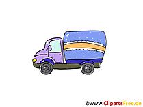 商用車 - 商用車のクリップアート、画像、漫画、コミック、グラフィック