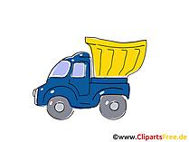 Off-Highway Truck Clipart, Bild, Cartoon, Comic, Grafik