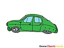 ビンテージ車のイメージ、クリップアート、イラスト、グラフィック、無料描画