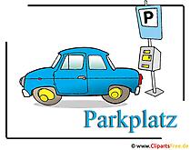 駐車スペースのクリップアート画像無料