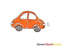 Personenkraftwagen Clipart, Bild, Cartoon, Comic, Grafik