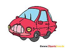 Personenkraftwagen, PKW, KFZ Bild, Clipart, Illustration, Grafik, Zeichnung