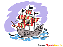 Piratenschiff Bilder, Clipart, Gifs, Grafiken