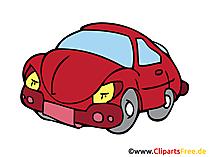 PKW Bild, Clipart, Illustration, Grafik, Zeichnung kostenlos
