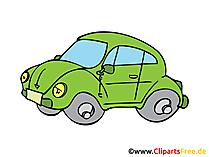 PKW Clip Art, Grafik, Illustration, Zeichnung kostenlos