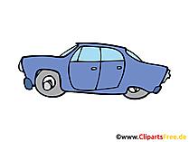 PKW Fahrzeug Illustration, Bild, Clipart, Zeichnung gratis