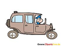 車ビンテージ車のイラスト、画像、クリップアート、無料で描く
