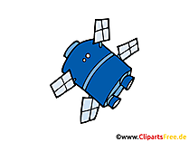 Satellite Clipart, Image, Pic free