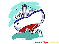 Schiffe Clipart, Grafiken und Bilder kostenlos zum Download