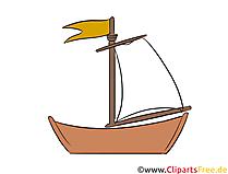 帆船クリップアート、イラスト、無料画像