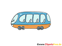 Tram Clip Art, Image, Pic gratis