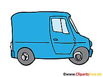 Transporter, LCV Bild, Clipart, Illustration, Grafik, Zeichnung kostenlos