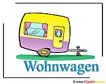 Wohnwagen Bild-Clipart free