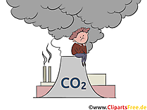 Immagine di clip art di CO2 gratuitamente