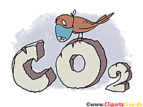 Co2 Illustration, Clipart, Stock Image Free