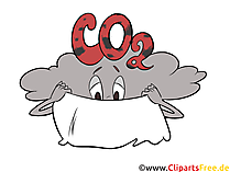 Gray cloud CO2 Stock Images, Clipart, Illustrations