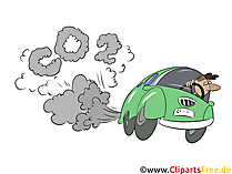 Car polluted air Stock images, clipart, illustrations