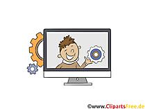 Clipart Technik, IT-Technologie