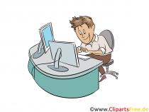 Udvikler Clipart-billede
