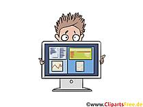 Produkt præsentation multimedieklip, billede, illustration
