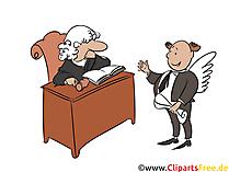 Anwalt Clipart, Bild, Illustration, Image