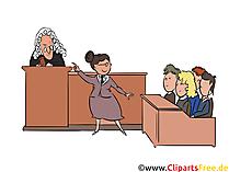 Gerichtsverhandlung Bild, Gerichtssitzung Illustration kostenlos